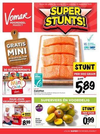 Vomar reclame folder (geldig t/m 26-09)