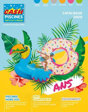 Cash Piscines catalogue publicitaire (valable jusqu'au 10-10)
