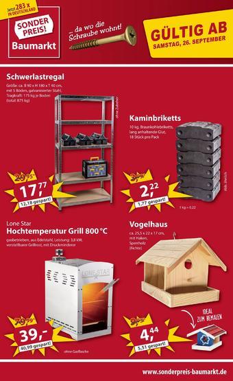 Sonderpreis Baumarkt Prospekt (bis einschl. 03-10)