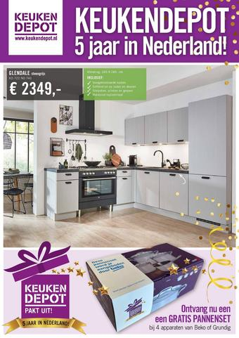 Keukendepot reclame folder (geldig t/m 27-09)