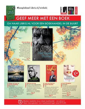 Libris reclame folder (geldig t/m 27-09)