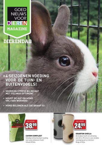 Goed Nieuws Voor Dieren reclame folder (geldig t/m 04-10)