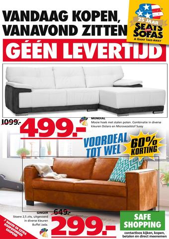 Seats and Sofas reclame folder (geldig t/m 04-10)