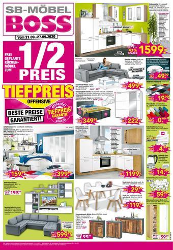 Möbel Boss Prospekt (bis einschl. 27-09)