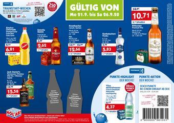 Hol'ab Getränkemarkt Prospekt (bis einschl. 26-09)