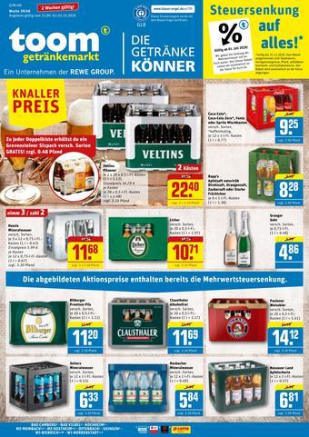 toom Getränkemarkt Prospekt (bis einschl. 03-10)