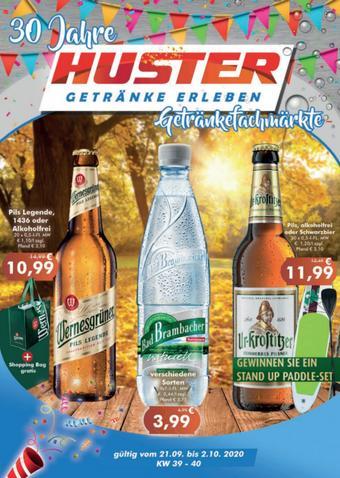 Getränke Huster Prospekt (bis einschl. 03-10)