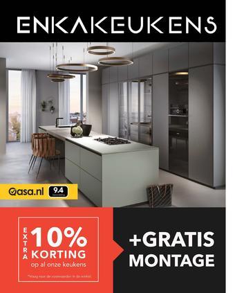 Enka Keukens reclame folder (geldig t/m 18-10)