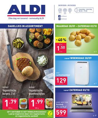 ALDI reclame folder (geldig t/m 09-10)