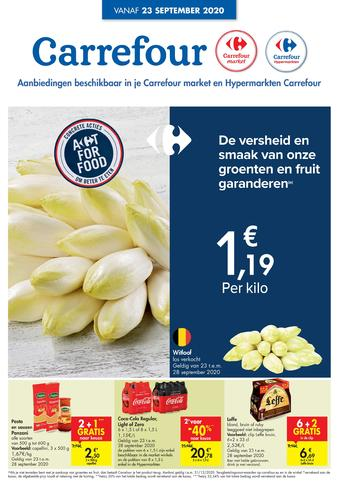 Carrefour reclame folder (geldig t/m 28-09)
