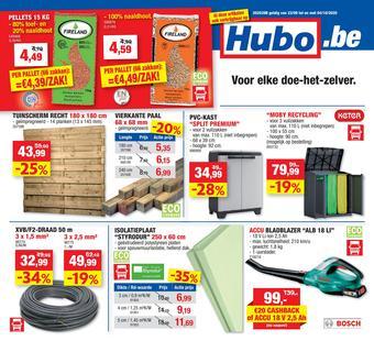 Hubo reclame folder (geldig t/m 04-10)