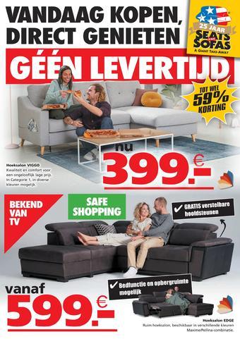 Seats and Sofas reclame folder (geldig t/m 27-09)