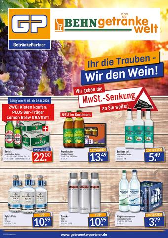 GetränkePartner Prospekt (bis einschl. 02-10)