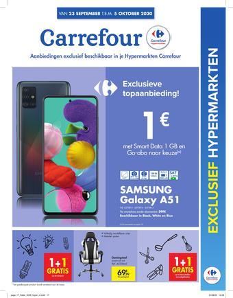 Carrefour reclame folder (geldig t/m 05-10)