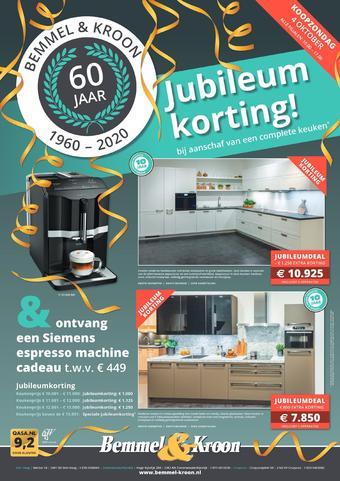 Bemmel & Kroon reclame folder (geldig t/m 26-09)