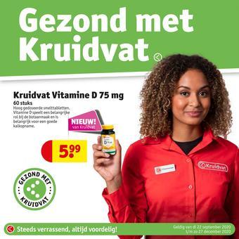 Kruidvat reclame folder (geldig t/m 31-10)