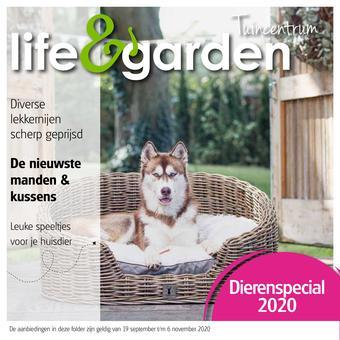 Life & Garden reclame folder (geldig t/m 06-11)