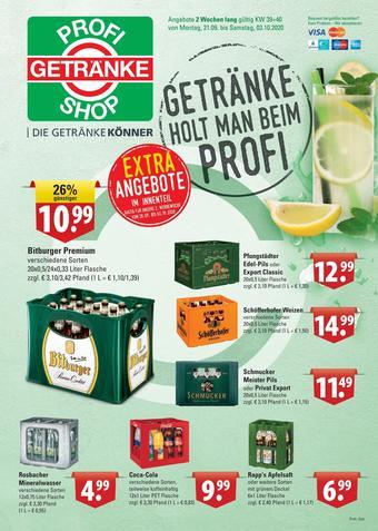 Profi Getränke Prospekt (bis einschl. 03-10)