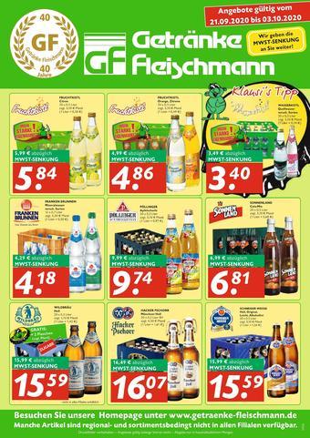 Getränke Fleischmann Prospekt (bis einschl. 03-10)