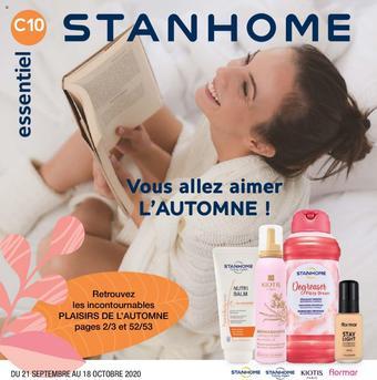 Stanhome catalogue publicitaire (valable jusqu'au 18-10)