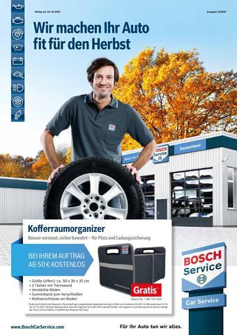 Bosch Car Service Prospekt (bis einschl. 24-10)