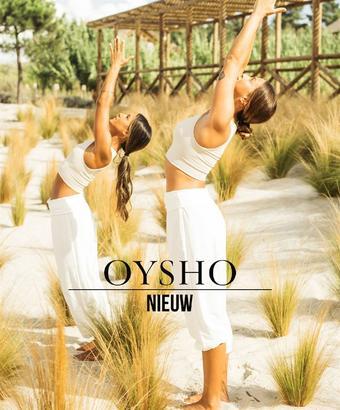Oysho reclame folder (geldig t/m 21-11)