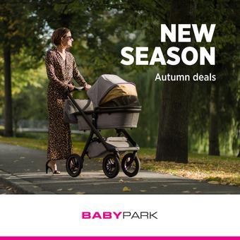 Babypark reclame folder (geldig t/m 19-10)