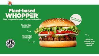 Burger King reclame folder (geldig t/m 13-10)
