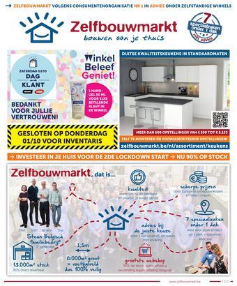 Zelfbouwmarkt reclame folder (geldig t/m 19-10)