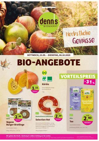 denn's Biomarkt Prospekt (bis einschl. 06-10)