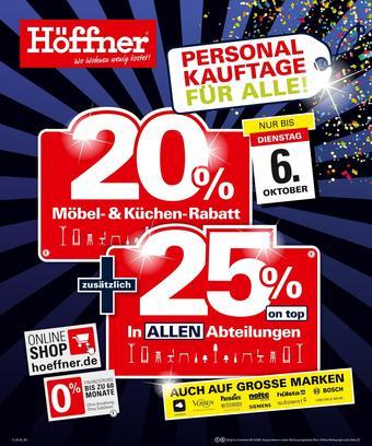 Höffner Prospekt (bis einschl. 06-10)