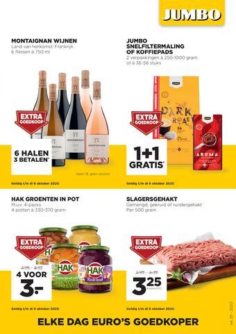Jumbo Foodmarkt reclame folder (geldig t/m 29-09)