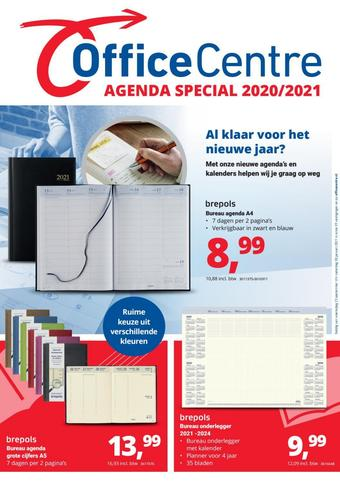 Office Centre reclame folder (geldig t/m 31-01)