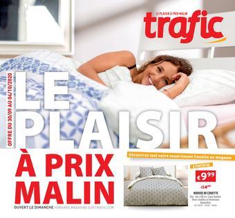 Trafic reclame folder (geldig t/m 04-10)