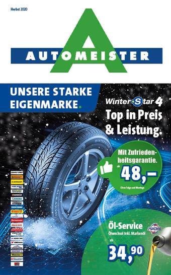 Automeister Prospekt (bis einschl. 30-11)
