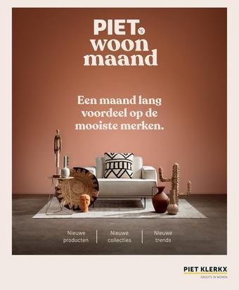 Piet Klerkx reclame folder (geldig t/m 01-11)