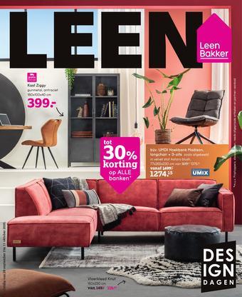 Leen Bakker reclame folder (geldig t/m 11-10)
