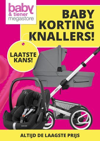 Baby & Tiener reclame folder (geldig t/m 03-10)