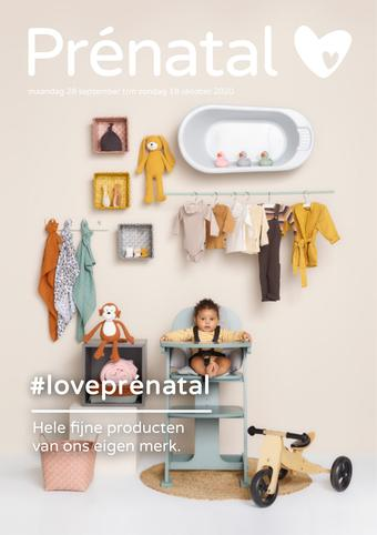 Prenatal reclame folder (geldig t/m 18-10)