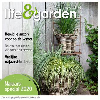 Life & Garden reclame folder (geldig t/m 31-10)