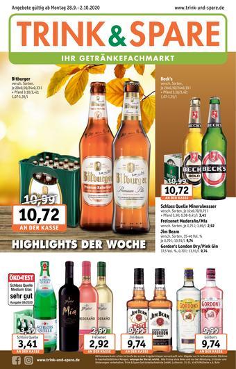 Trink und Spare Prospekt (bis einschl. 02-10)