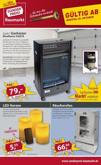 Sonderpreis Baumarkt Prospekt (bis einschl. 09-10)