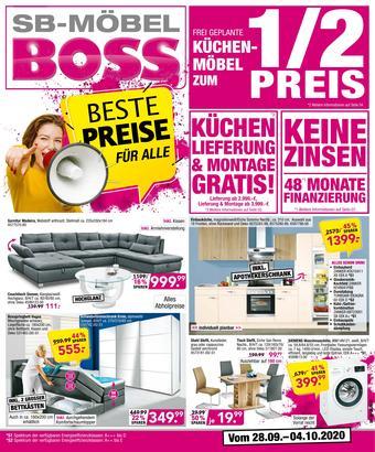 Möbel Boss Prospekt (bis einschl. 04-10)