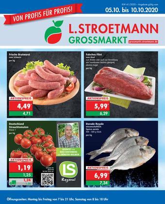 L. STROETMANN GROSSMARKT Prospekt (bis einschl. 10-10)