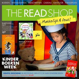 The Read Shop reclame folder (geldig t/m 11-10)