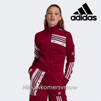 Adidas reclame folder (geldig t/m 23-11)