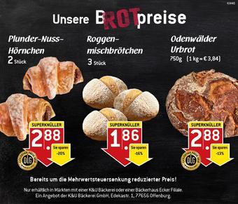 K&U Bäckerei Prospekt (bis einschl. 04-10)