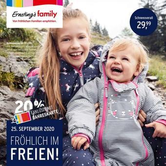 Ernstings family Prospekt (bis einschl. 04-11)