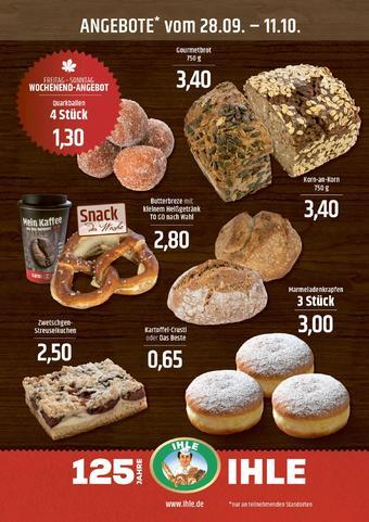 Landbäckerei Ihle Prospekt (bis einschl. 11-10)