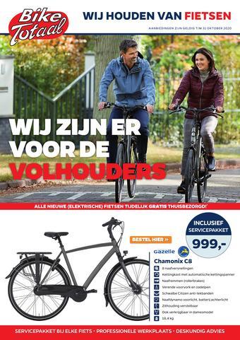 Bike Totaal reclame folder (geldig t/m 31-10)